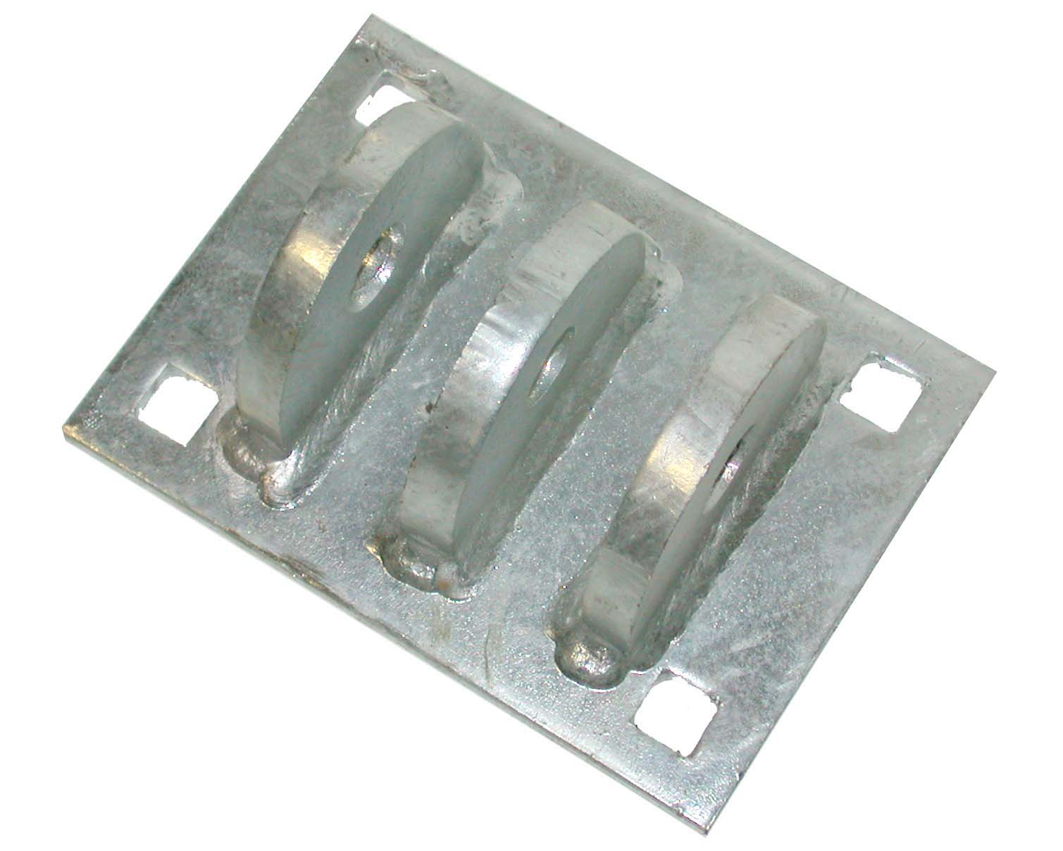 Dock Heavy Duty T-Female Connector DH-HDTF Galvanized
